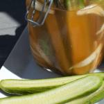 ... easy-to-make, refrigerator pickle recipe for you – Sriracha Pickles