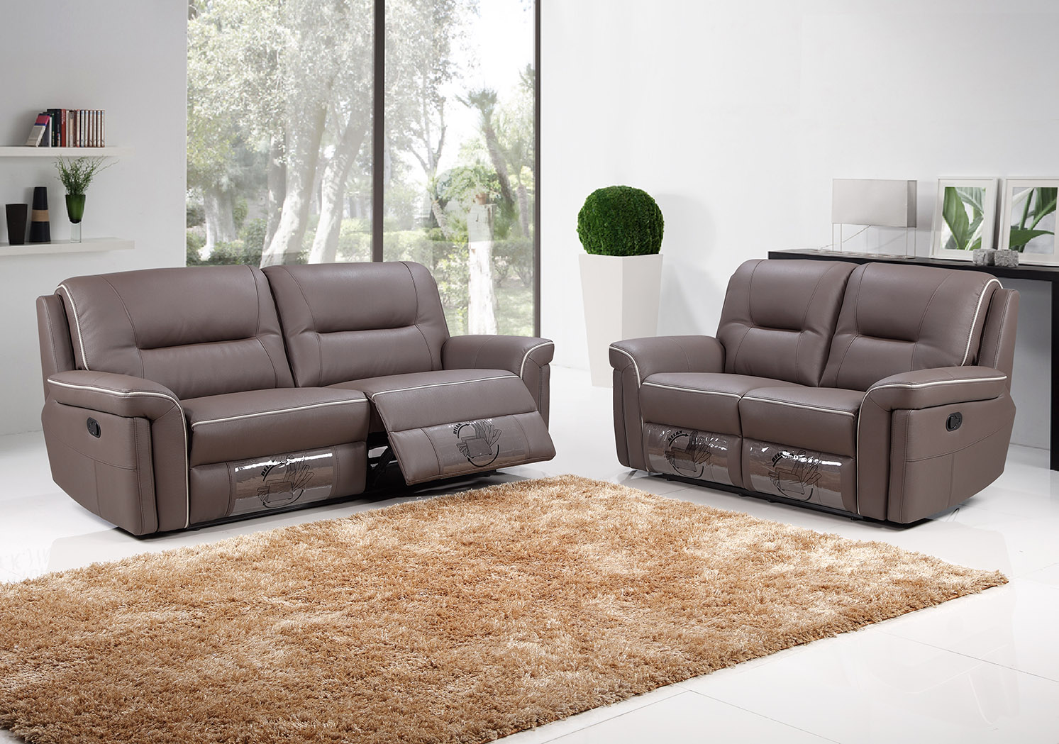 Recliner Lounge 3rr 432rr F9203 Modern Recliner Lounges Suite Fortune