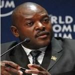 Pierre Nkurunziza, Burundi
