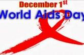 WORLD AIDS DAY – DECEMBER 1