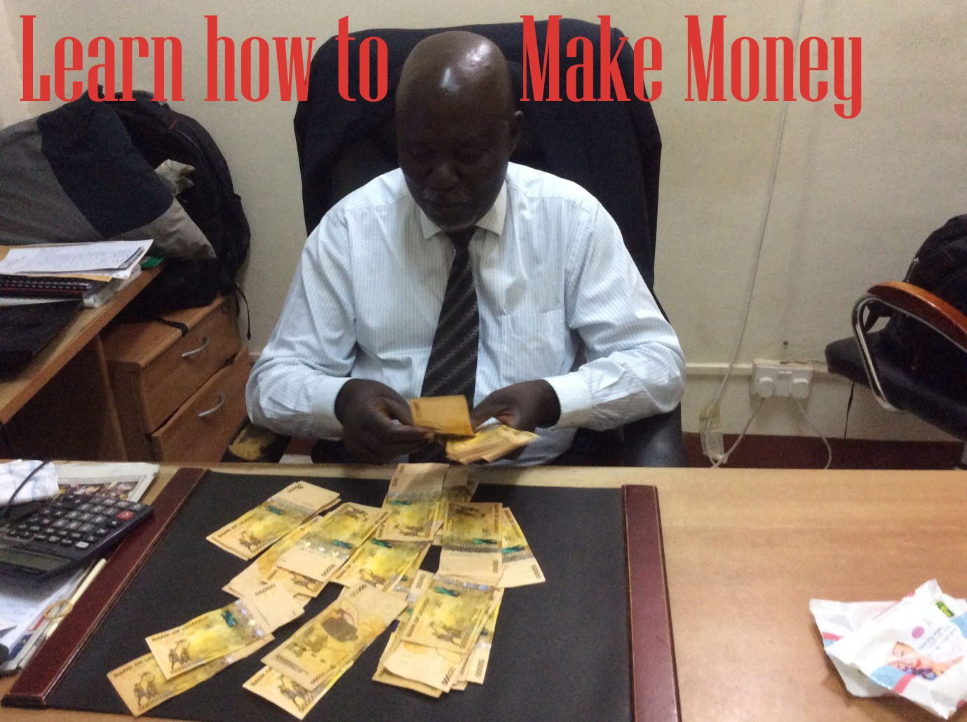 Making money is a personal choice