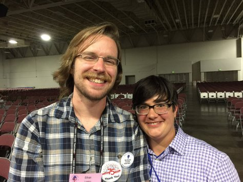 Ethan Lowery and Katie Mears of Episcopal Relief and Development