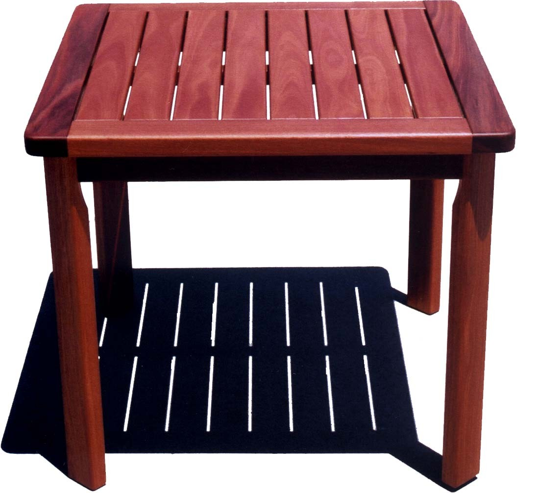 Outdoor Timber Table Solid Jarrah Timber Outdoor Table Furniture And Home Décor