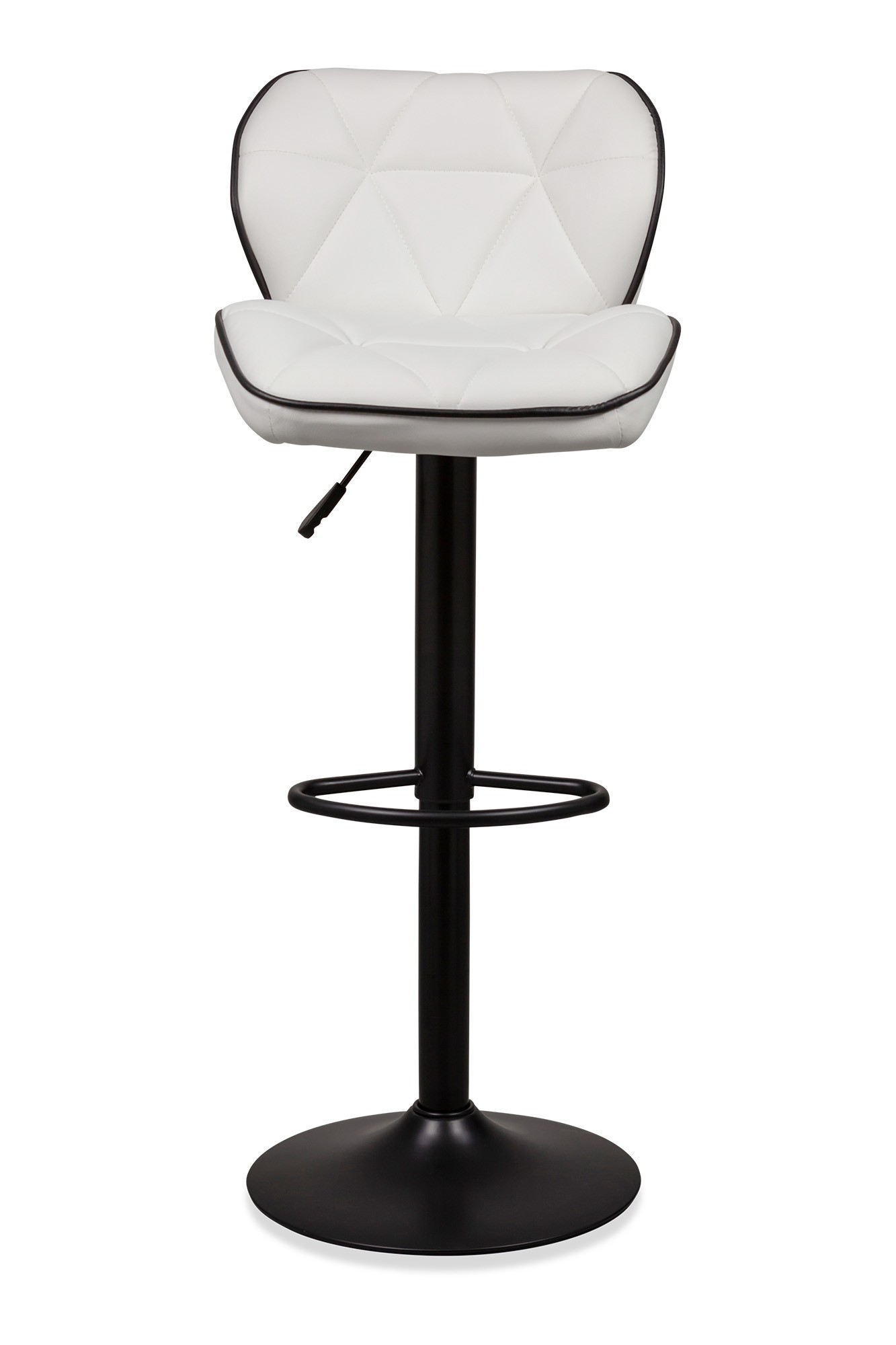 Living Room Stools Uk Kreindel Bar Stool With Black Base White Bar Stools