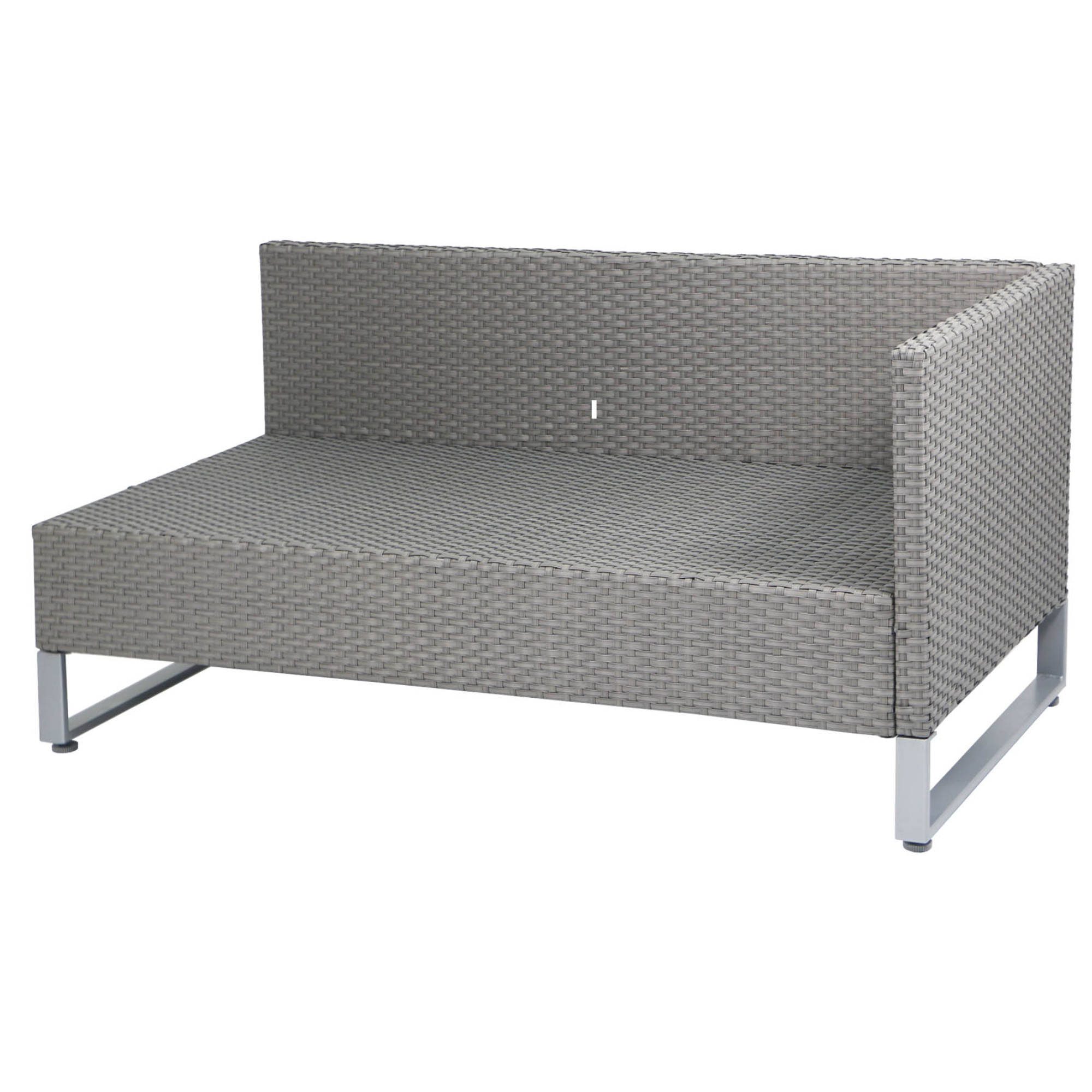 Outdoor Sofa Rattan Royal Synthetic Rattan Outdoor Sofa Set With Storage Box Grey