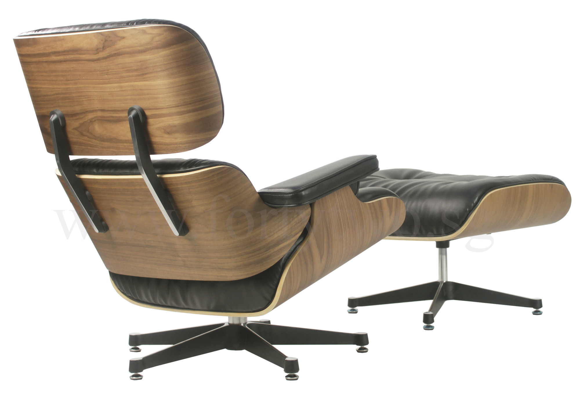 Eames Lounge Sessel Designer Replica Eames Lounge Chair Black Leather