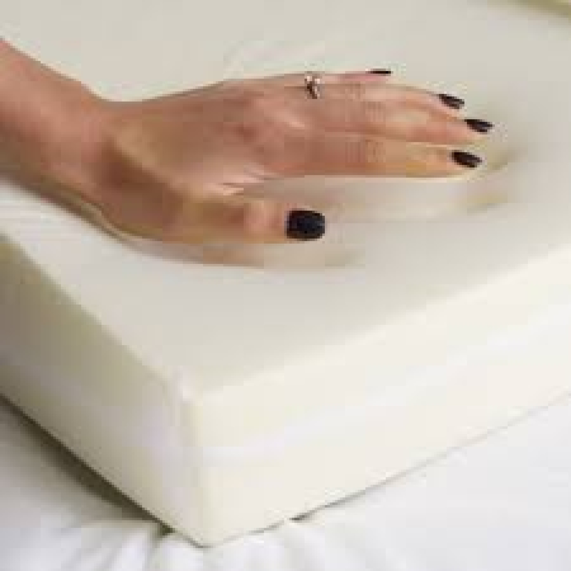 Mattress Topper Thick Sleepthetic Fitted Memory Foam Topper Super Single 2 Inch Thick
