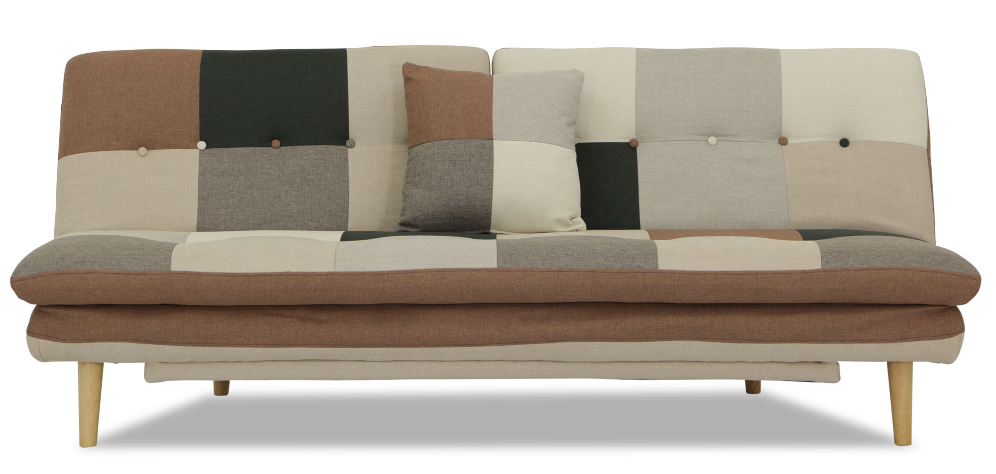 Patchwork Sofa Jeza Patchwork Sofa Bed Grey Mix Furniture And Home Décor