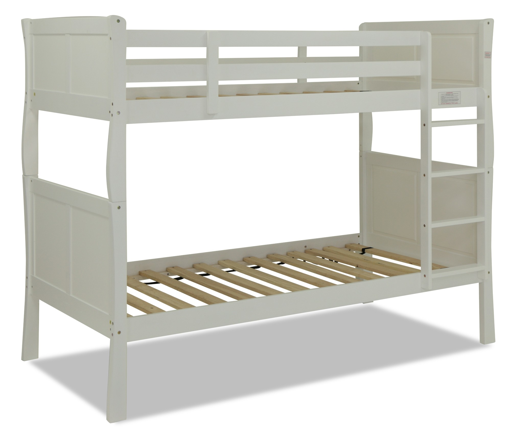 White Wooden Bunk Beds Ivy Wooden Bunk Bed White Furniture And Home Décor Fortytwo