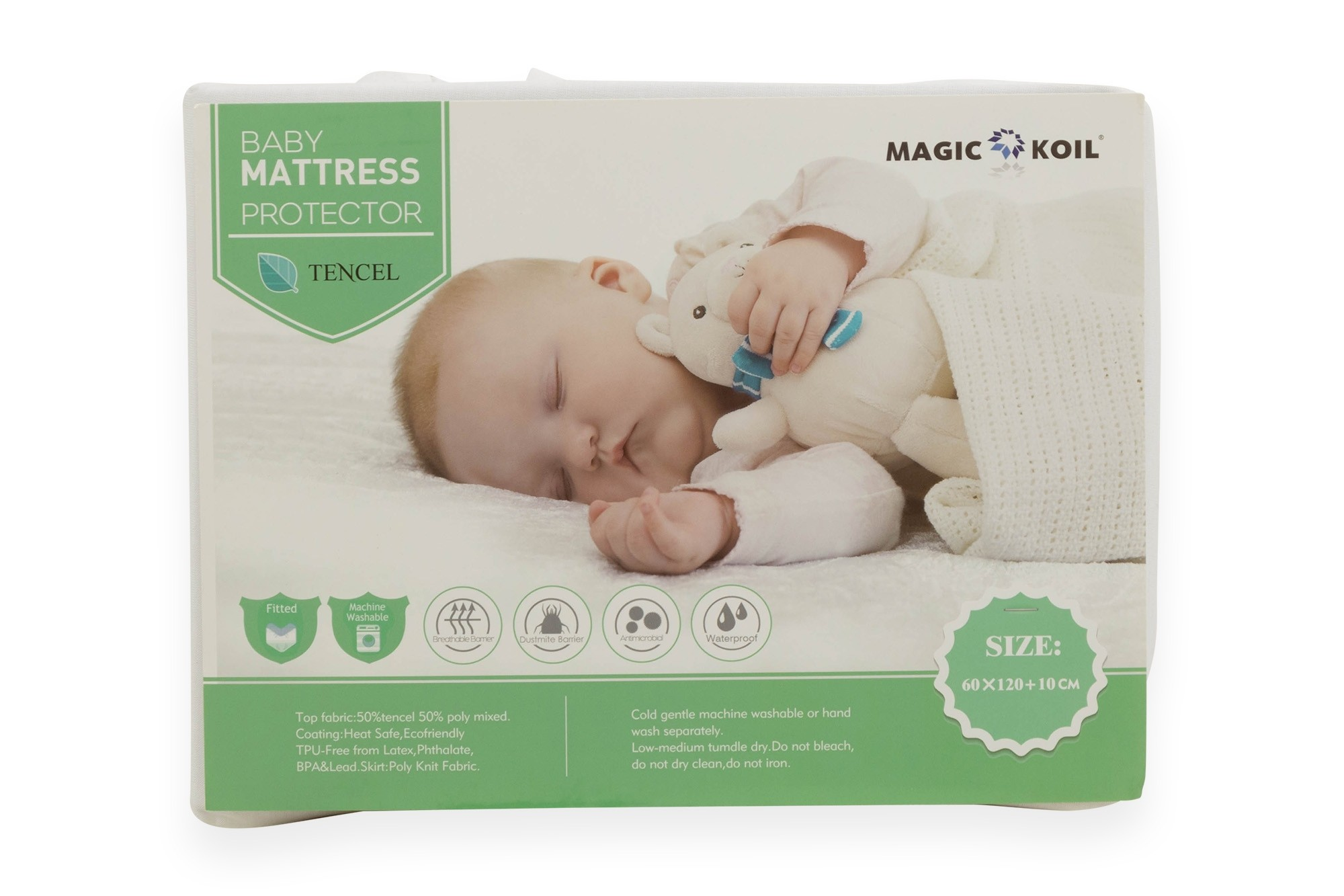 Toddler Mattress Vs Baby Mattress Magic Koil Baby Tencel Fitted Mattress Protector