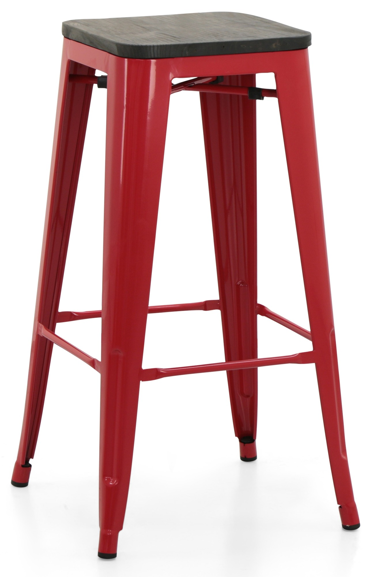 Living Room Stools Uk Retro Metal Bar Stool With Wooden Seat Red Bar Stools