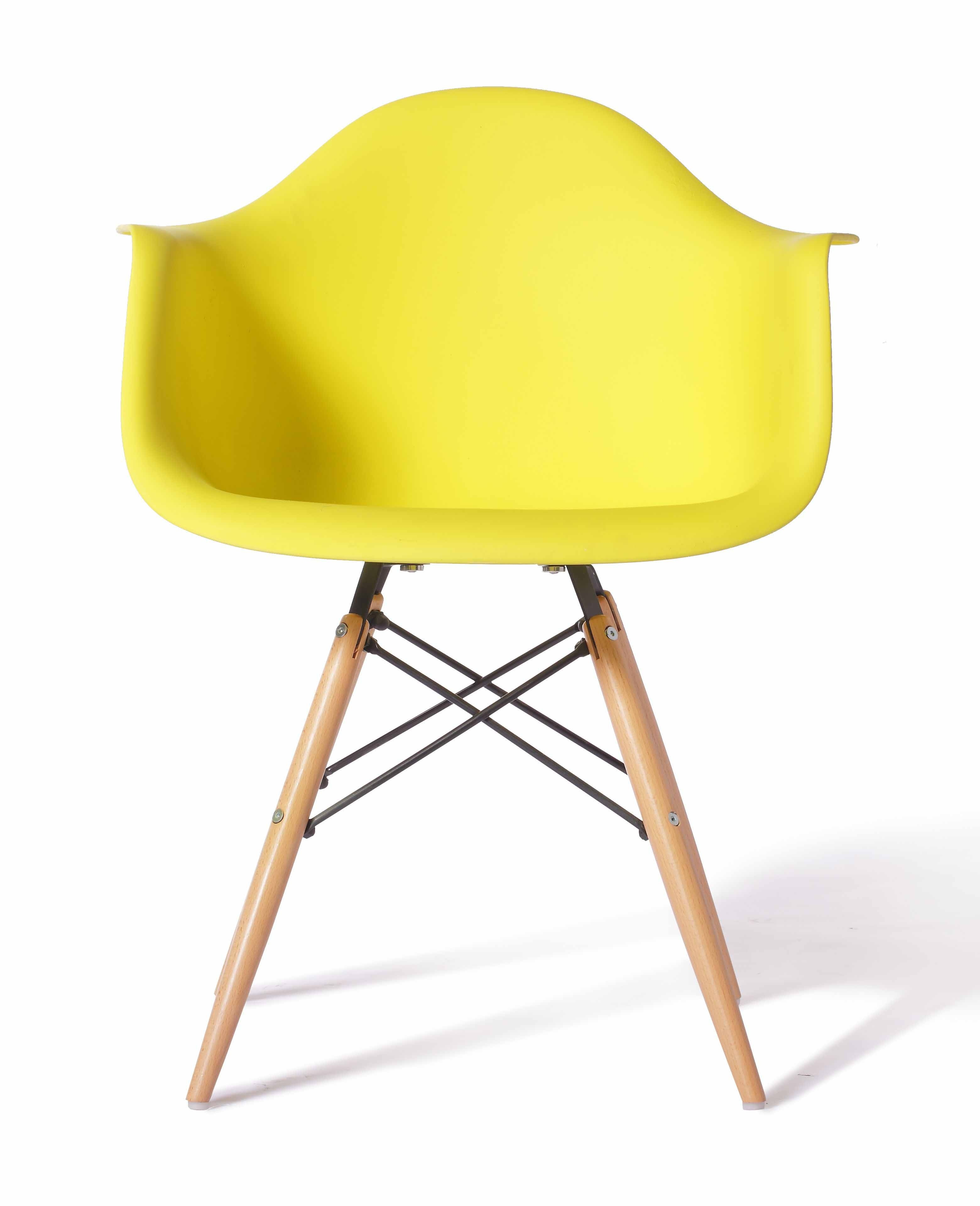 Eames Replica Eames Replica Designer Arm Chair Yellow