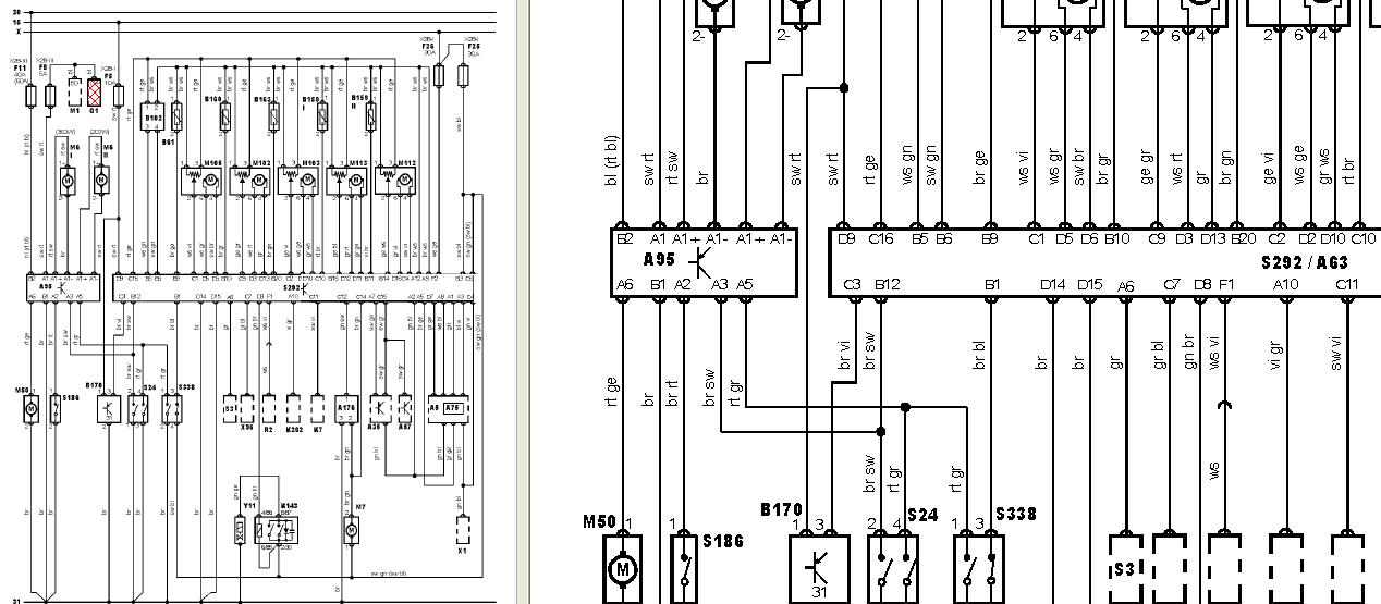 bmw 650i bedradings schema