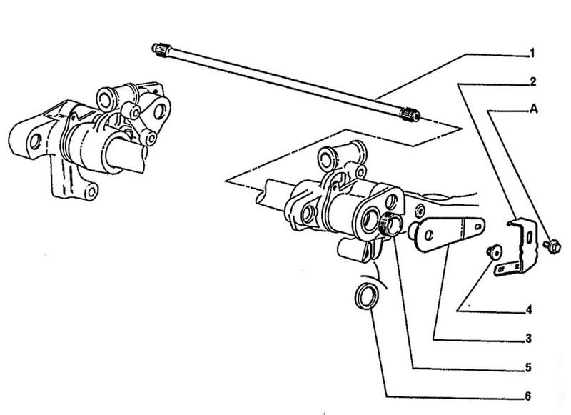 peugeot 206 rear brakes diagram