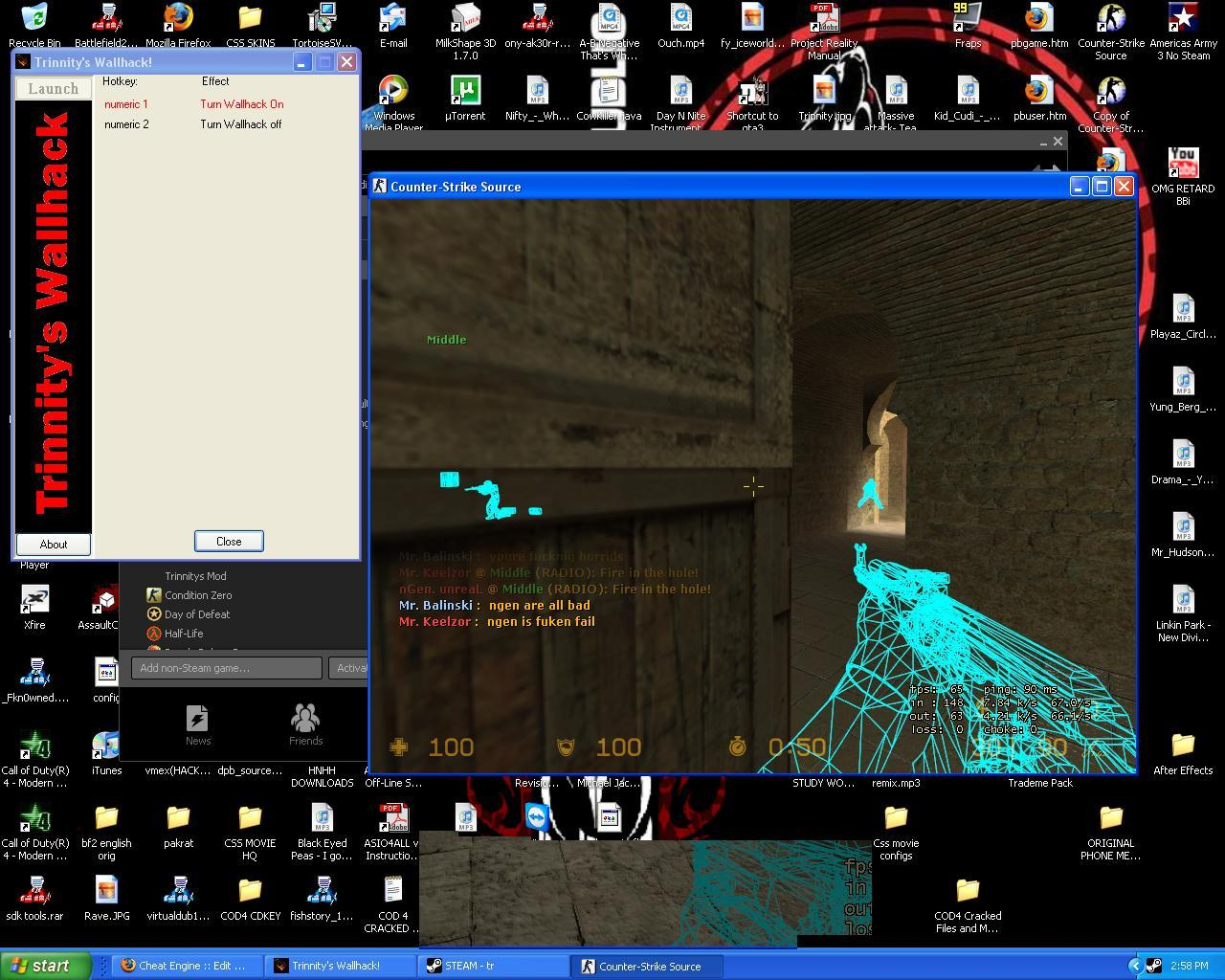 Cheat Engine View Topic Counter Strike Source Wallhack