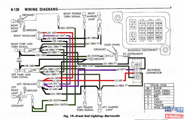 mopar rallye dash wiring diagrams