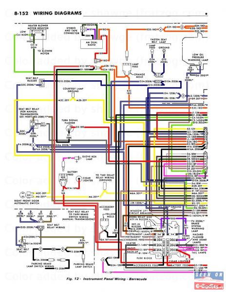 wiring diagram for dodge challenger 70