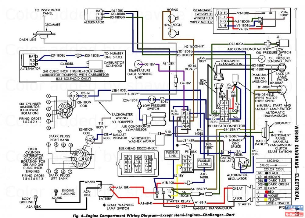 70 cuda wiper wiring diagram
