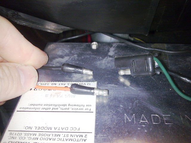radio wiring - The Ford Torino Page Forum