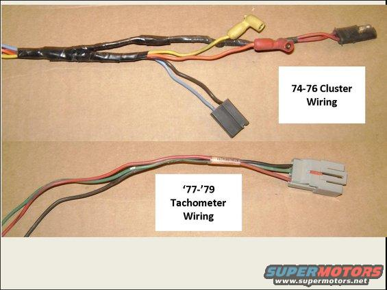 INFO 72 - 79 Gauge Clusters and Wiring - The Ford Torino Page Forum