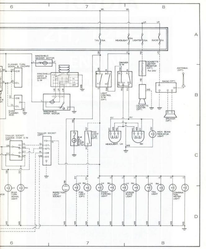 1979 toyota land cruiser wiring diagram