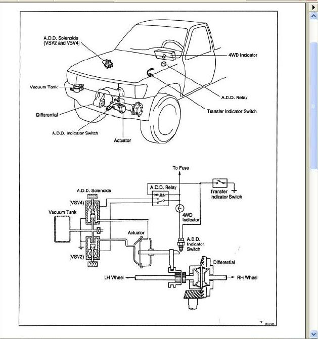 97 4runner starter wiring diagram