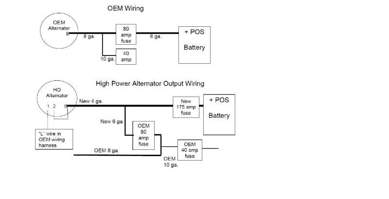 80 gm alternator wiring diagram