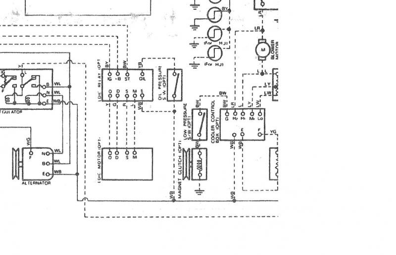 wiring diagram according to new colour code