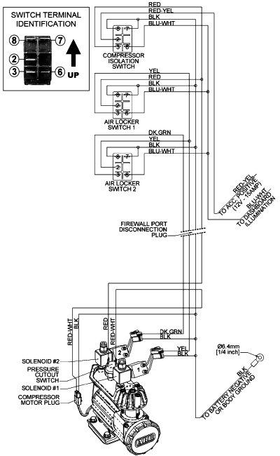 Ford 12 Volt Solenoid Wiring Diagram Wiring Up An Arb Compressor Ih8mud Forum