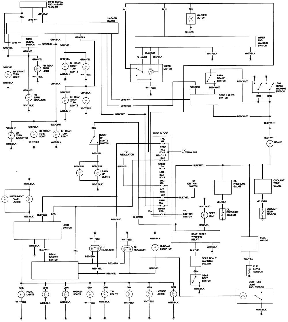 77 toyota pickup wiring diagram