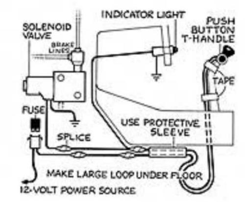 brake line lock wiring diagram