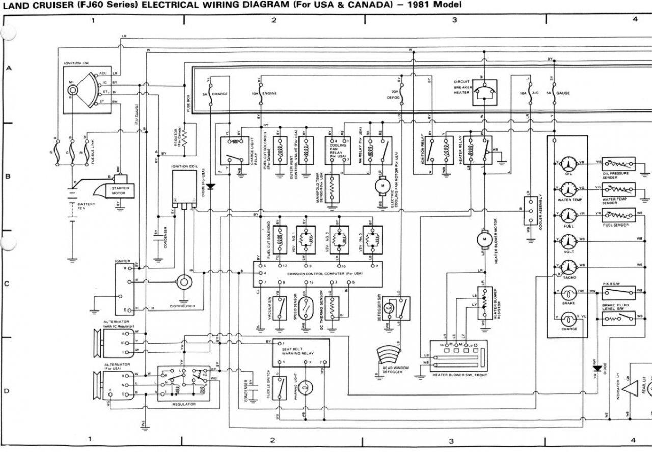 electrical wiring diagrams toyota land cruiser vdj79