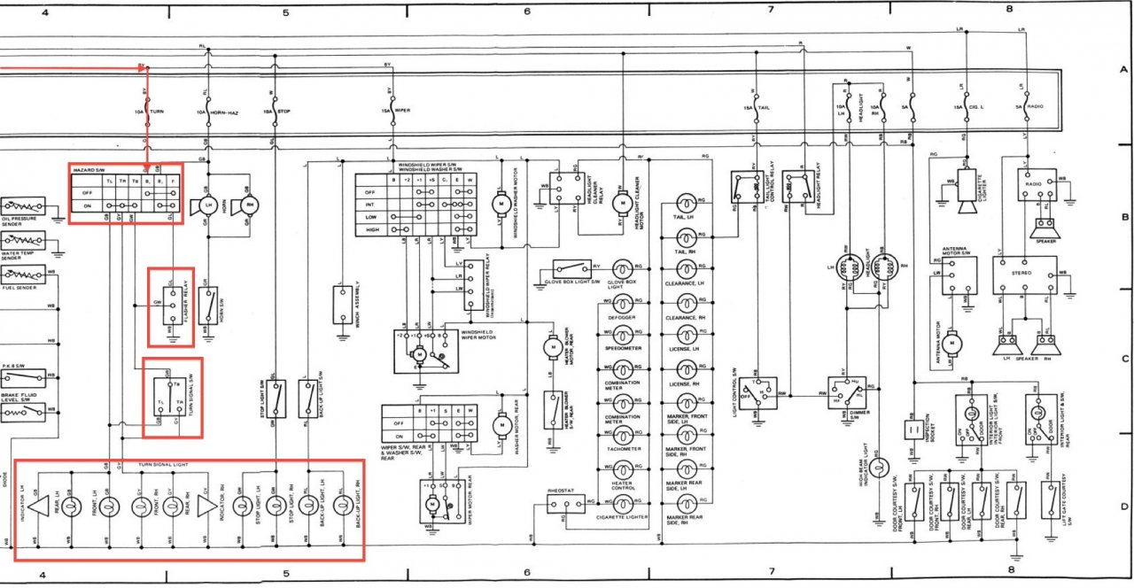 wiring and circuit diagram