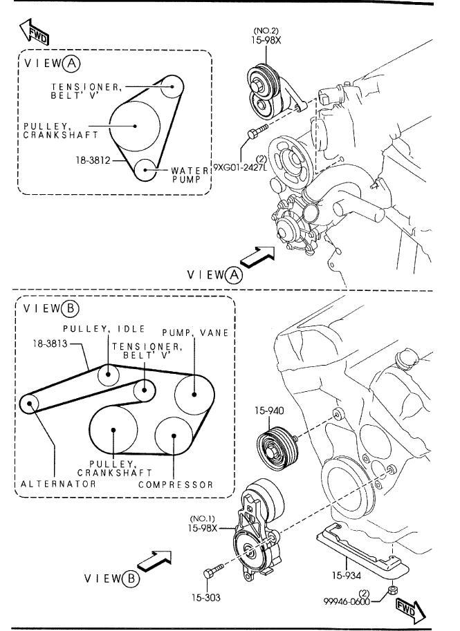 Mazda 30 V6 Engine Diagram - 4hoeooanhchrisblacksbioinfo \u2022