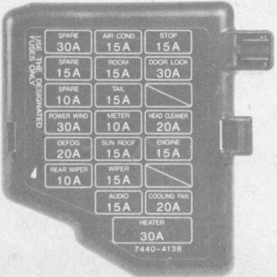 1994 Mazda Miata Wiring Diagram On 1993 Mazda Miata Fuse Box Diagram