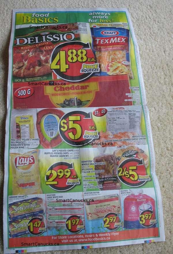 week grocery list