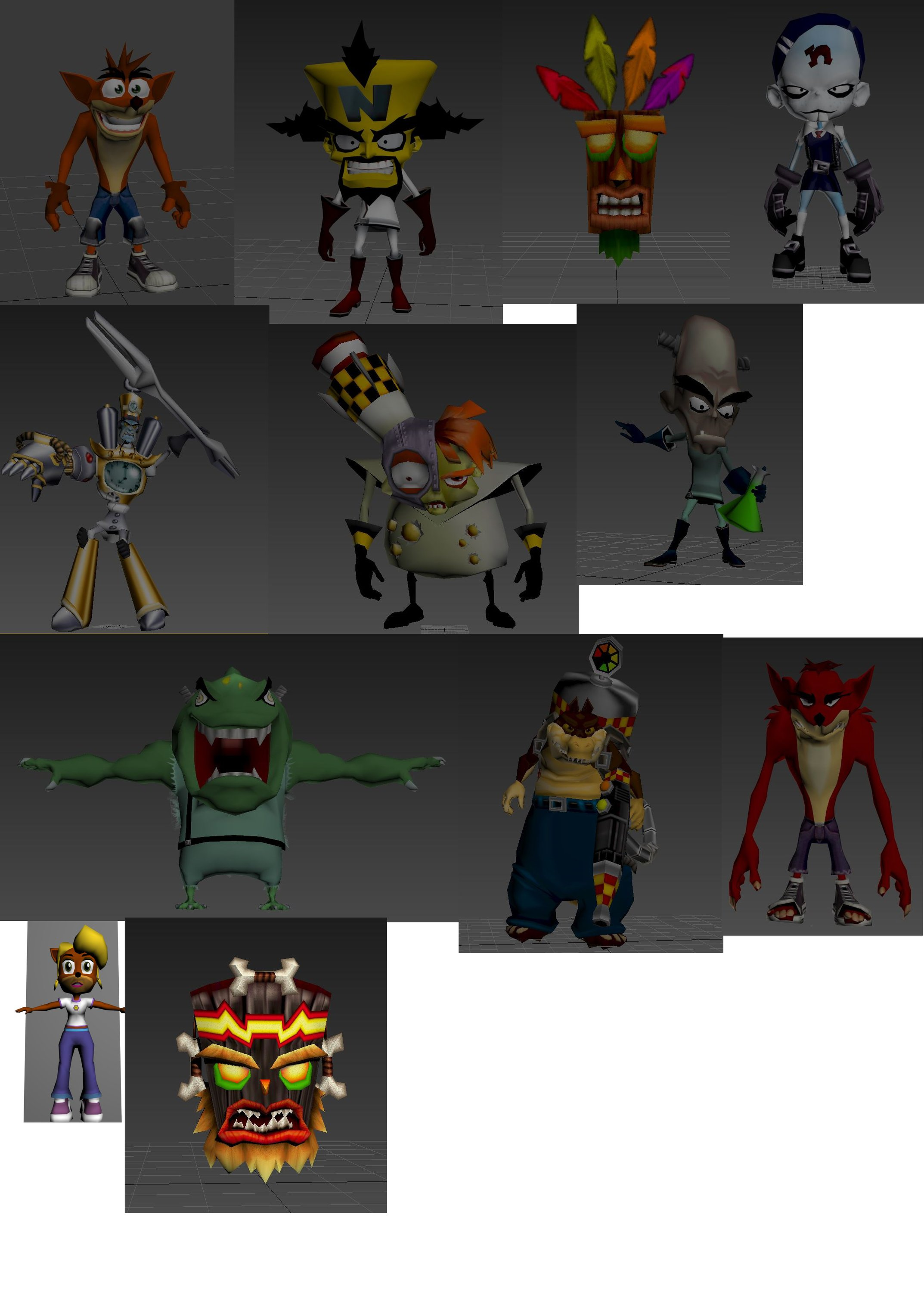 3d Models For Animation I Need Help For Rig And Animation Of My 3d Models Unity Forum