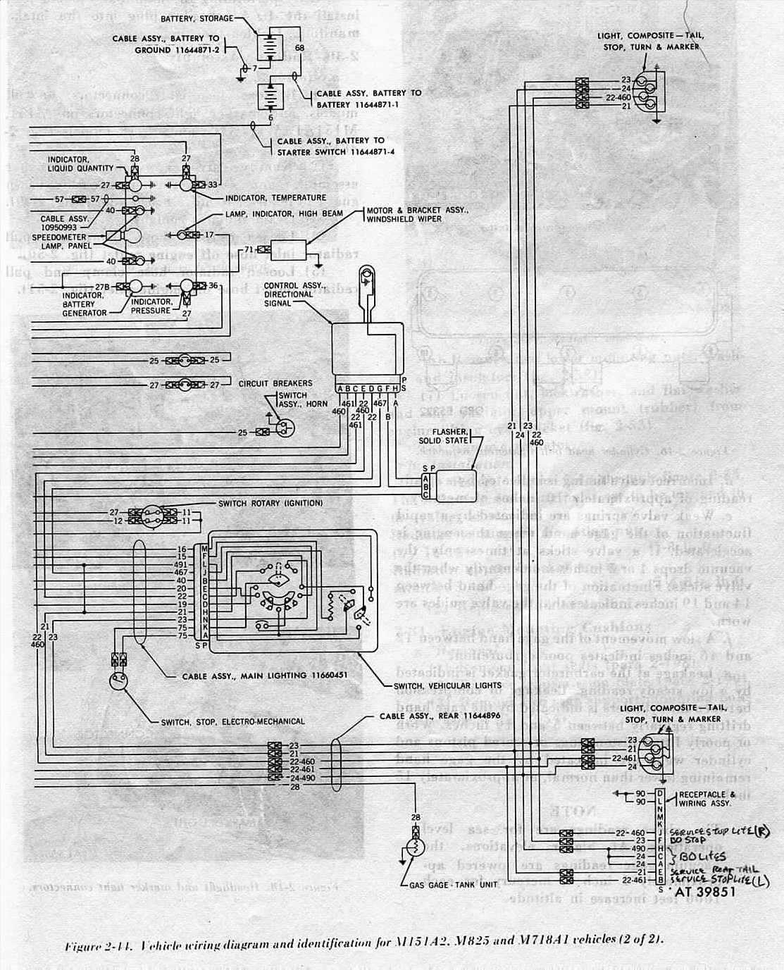 m151a2 wiring diagram