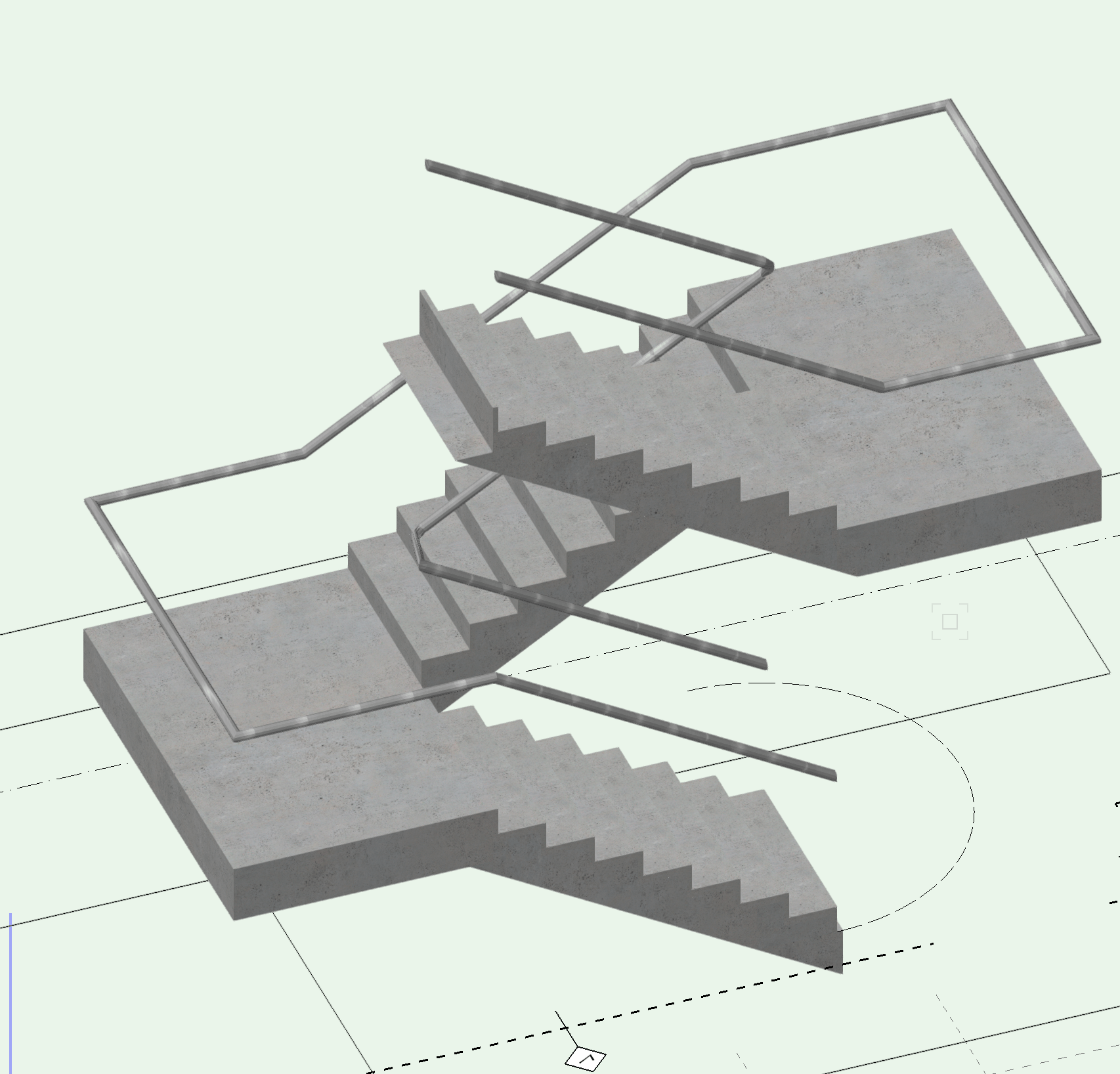 U Shaped Stairs Problem With U Shape Stair Section - General Discussion