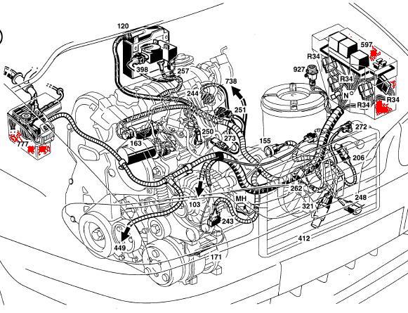 fiat schema moteur scenic 1 ph
