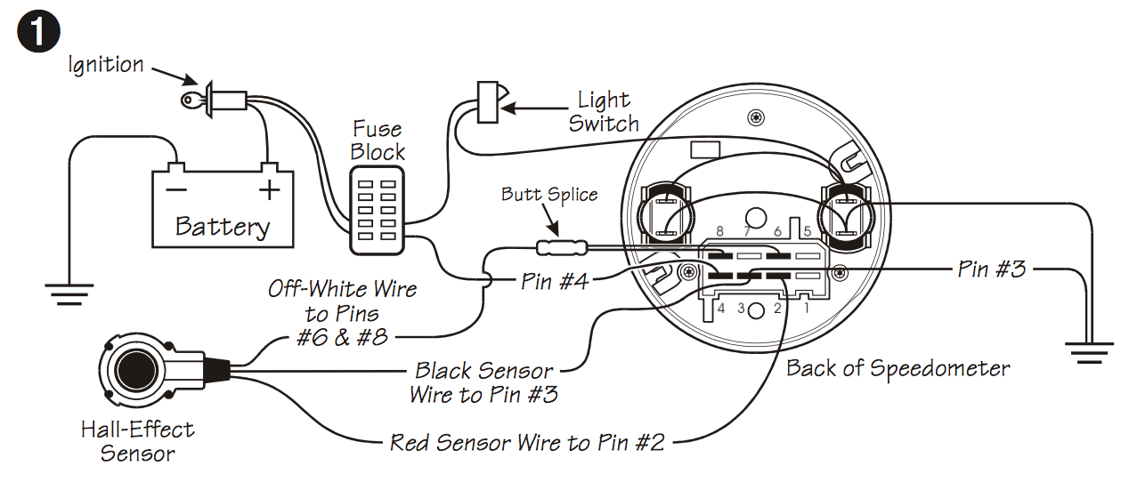 wiring diagram speedometer r25