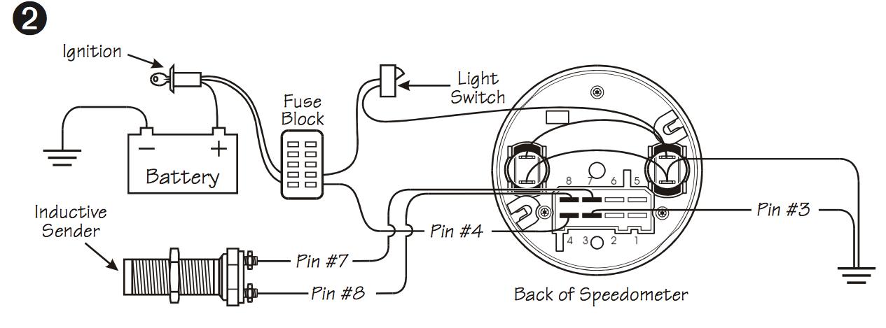vdo speedometer wiring diagram