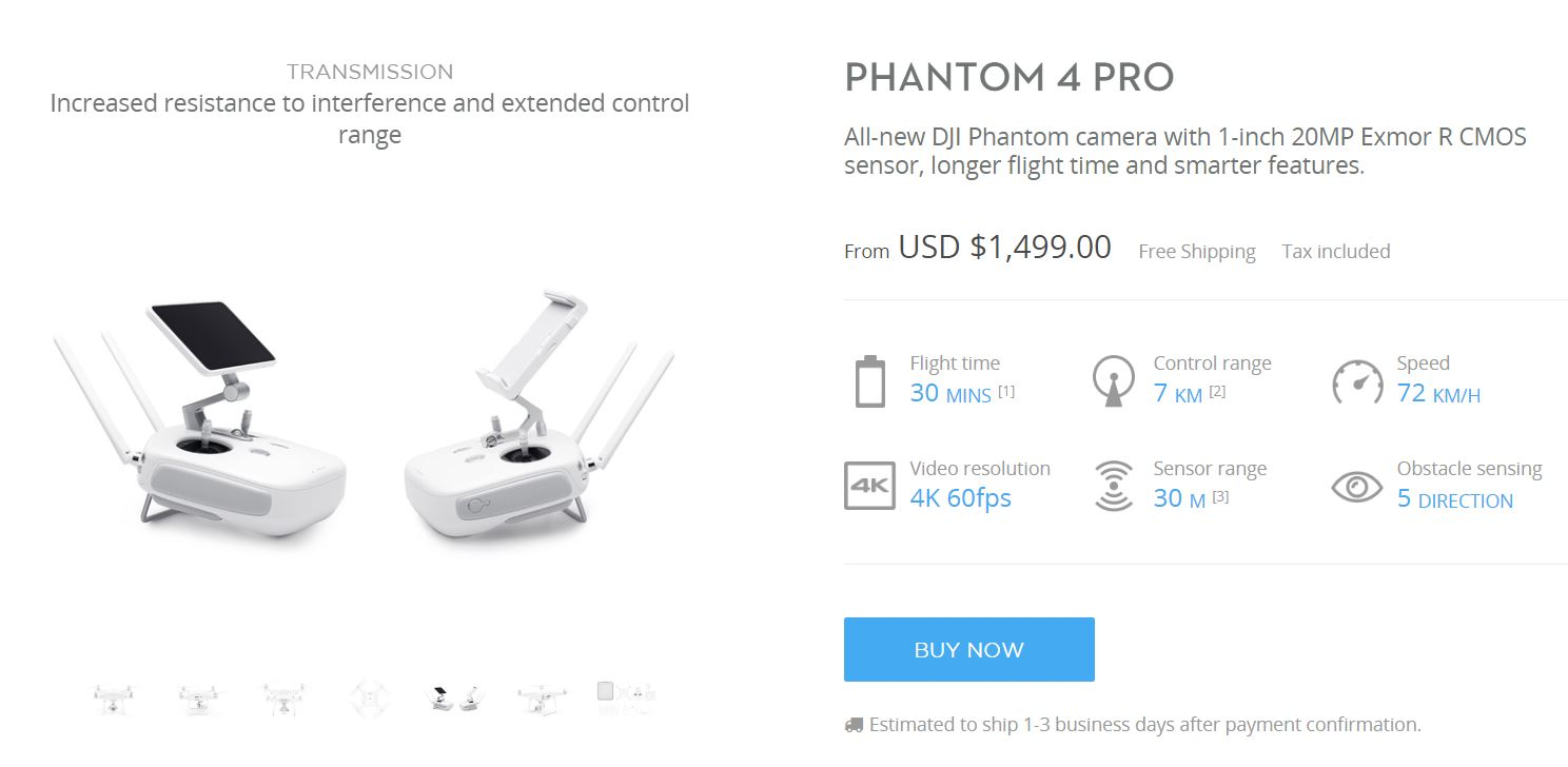 Fullsize Of Phantom 4 Vs Phantom 4 Pro