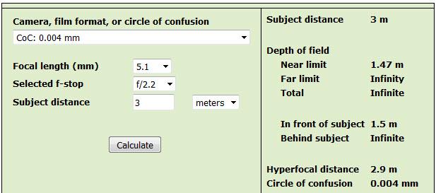 Hyperfocal distance of Mavic\u0027s lens+sensor? DJI FORUM