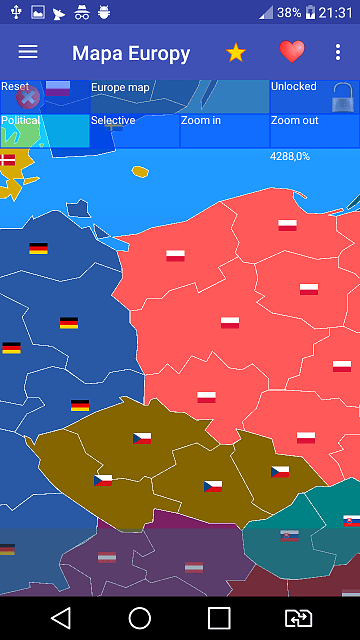germany map of europe