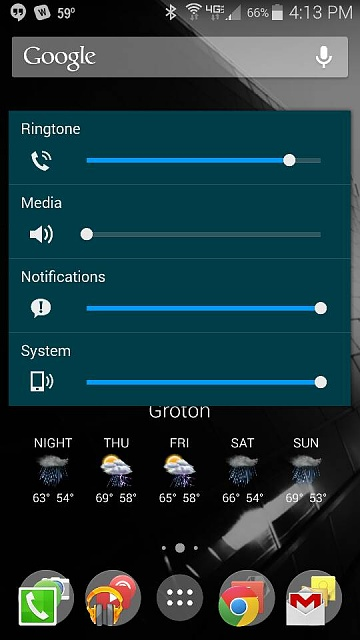 Samsung Galaxy S8 Volume Control For Ringtone And Notifications? - Android