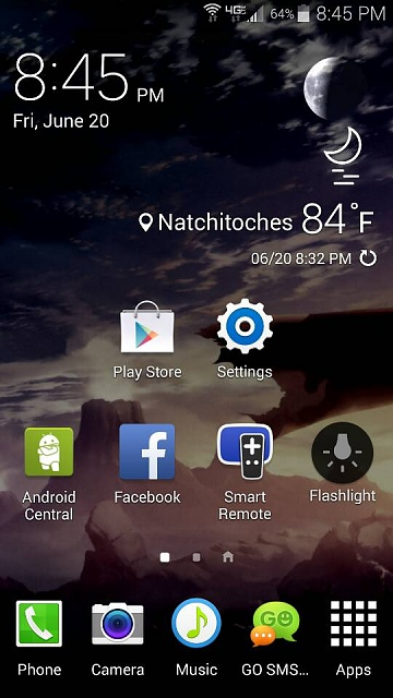 Samsung Galaxy 3d Live Wallpaper Best Weather App For Use On The Galaxy S5 Android