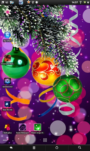 Christmas live wallpaper - Android Forums at AndroidCentral.com
