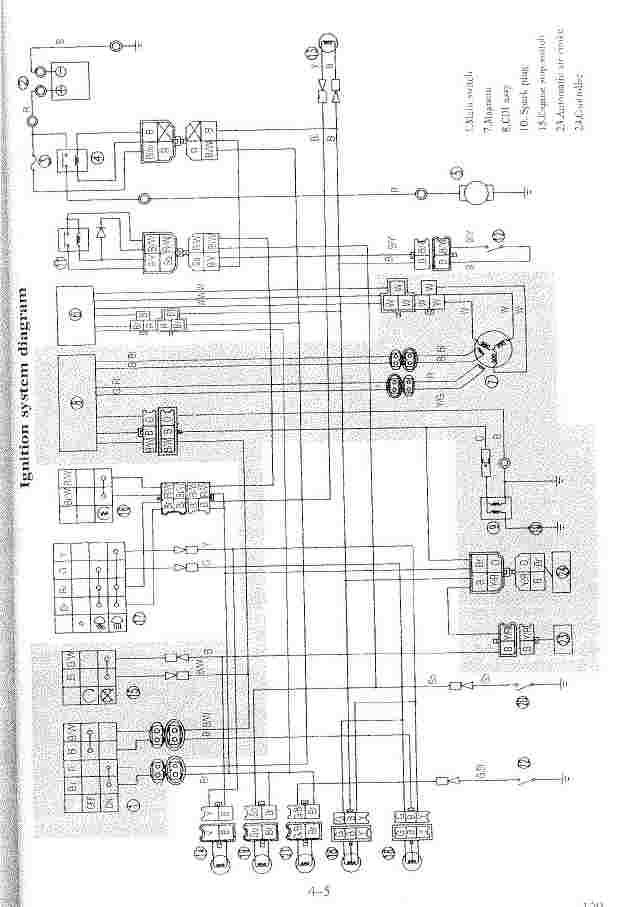pit bike wiring diagram