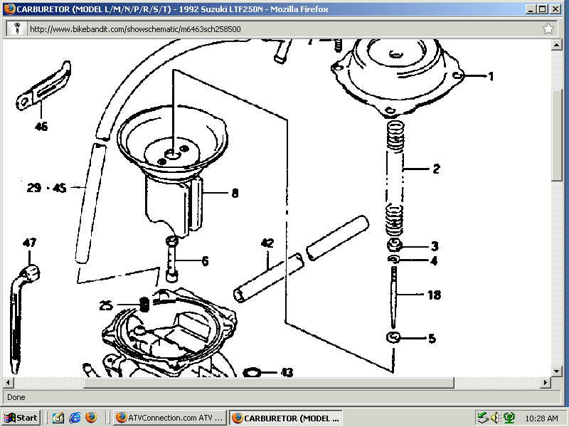 Suzuki Ltz 400 Carburetor Diagram \u2013 Motorcycle Image Idea